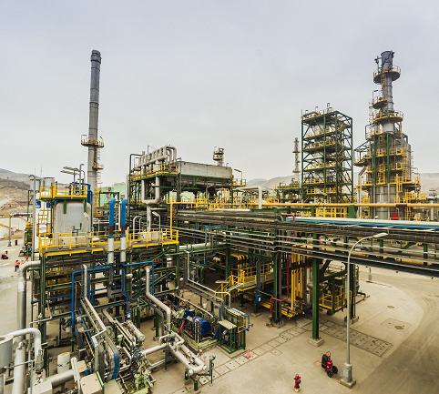 Adaptation aux nouvelles spécifications des carburants. Bloc de distillats moyens.