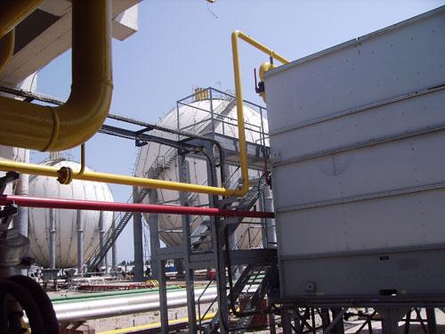 Sustitución rack de tuberías factoría de Castellón
