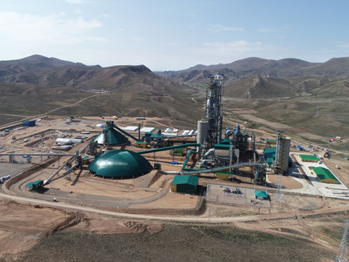 EPC Project for a cement plant in Oruro, Bolivia
