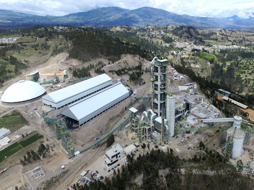 EPC Project for a new Clinker line for UCEM Cement Plant in Chimborazo (Ecuador)