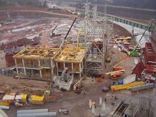 Nueva instalación de molienda OK 33-4 en la fábrica de Aboño de Tudela Veguin