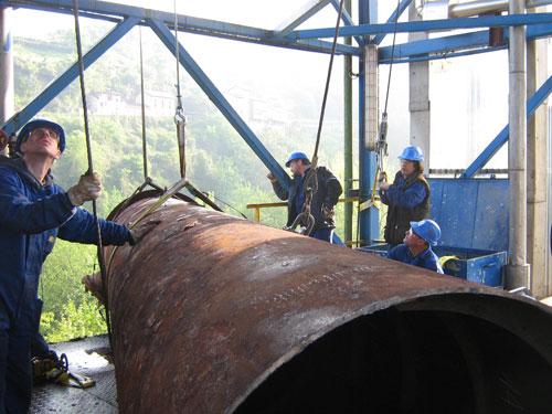 Contrato de mantenimiento mecánico planta de Trubia en Asturias