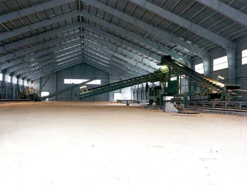 Parque de prehomo en planta de cemento, Olazagutia, España