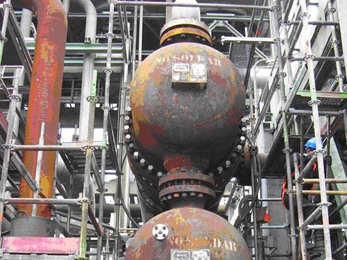 Revamping de la unidad HYDROCRACKER de refinería, La Coruña, España