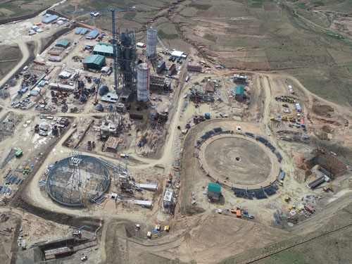 Proyecto EPC para construcción de una planta de cemento en Potosí (Bolivia)