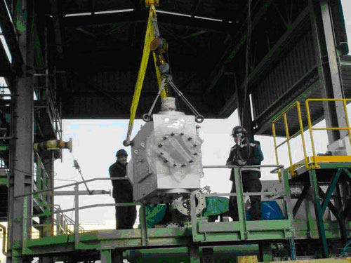 Montaje de nuevo compresor de combustibles a 10 PPM para Peter Brotherhood