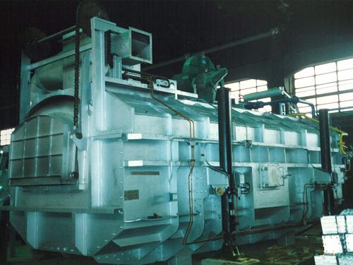Horno de fusión de aluminio, Sabiñánigo (Huesca) España