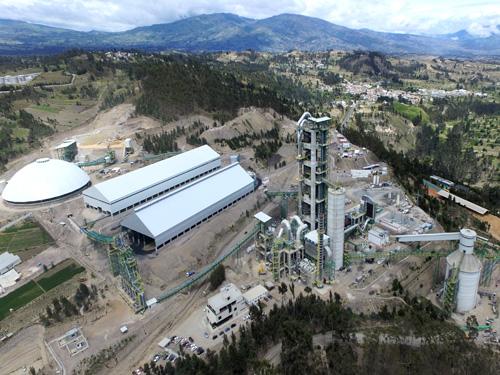 Proyecto EPC para construcción de una nueva linea de clinker para la planta de cemento de UCEM en Chimborazo (Ecuador)