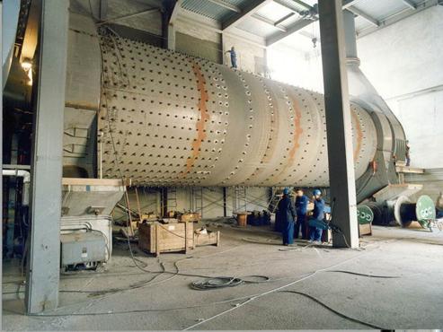 Cement grinding C. La Cruz