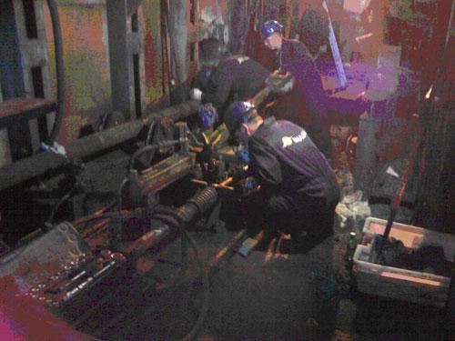 Trabajos de revisión mecánica parada planta siderúrgica de SN Maia (Portugal)