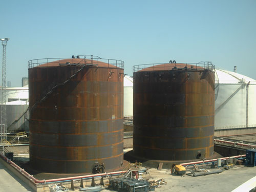 Aumento capacidad de almacenamiento instalación de Barcelona