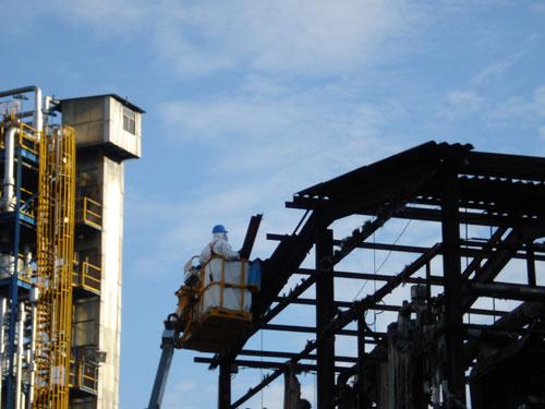 Reparación torres de refrigeración refinería de Cartagena