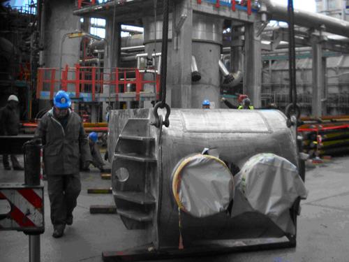 PACKINOX refinería de A Coruña