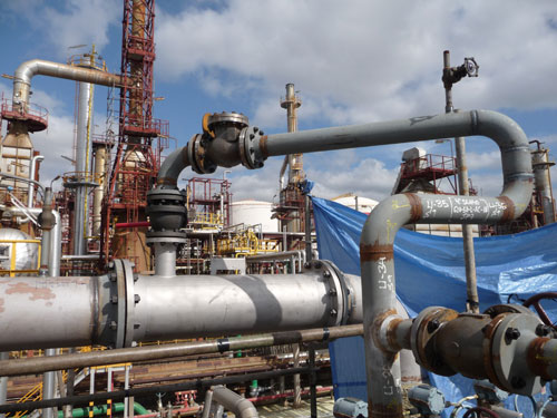 General shutdown in the refinery of CEPSA in Tenerife