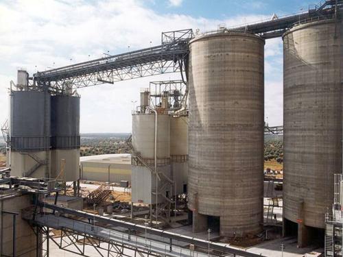 Instalación almacenamiento y expedición de cemento, Morata de Tajuña, Spain