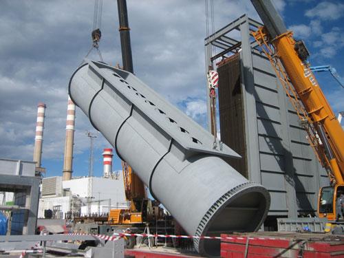 Nueva caldera de recuperación en la refinería de Castellón