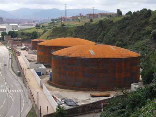 Enlargement of the storage facility of Gijón