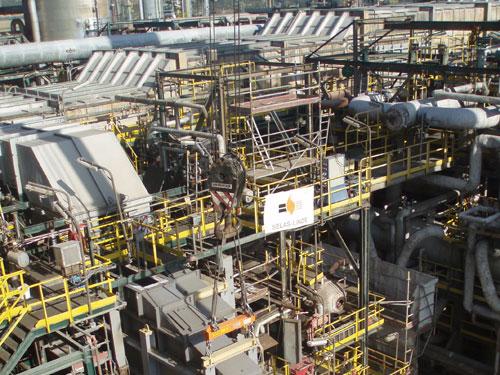 Revamping dos hornos de etileno en la refinería de Tarragona