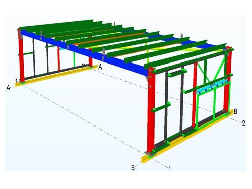 Stockyard conveyors covering, Ilva Italy
