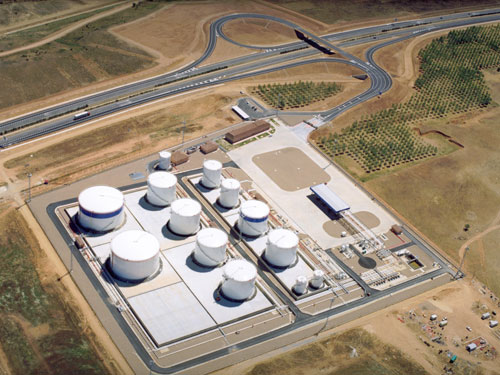 New hydrocarbons storage facility in León