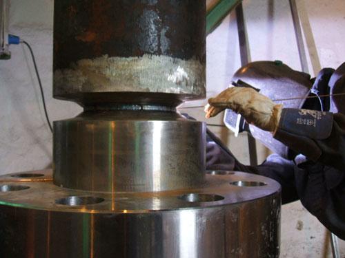 Montaje mecánico nueva prensa hidráulica