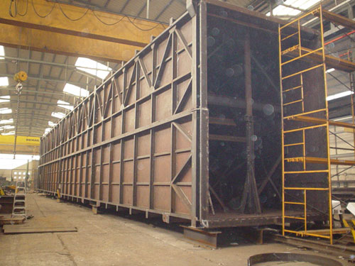 Ducting for fume collection