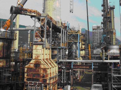 PACKINOX refinería de TAMOIL en Suiza