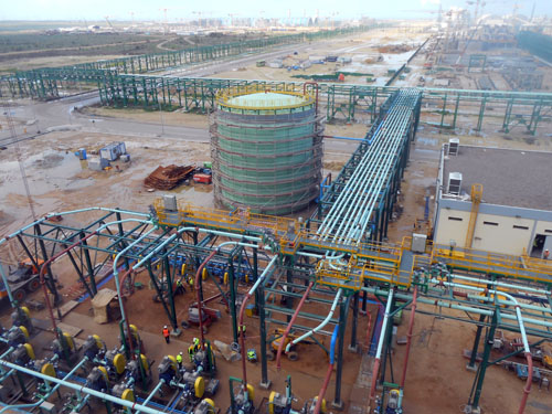 Slurry Distribution Plant