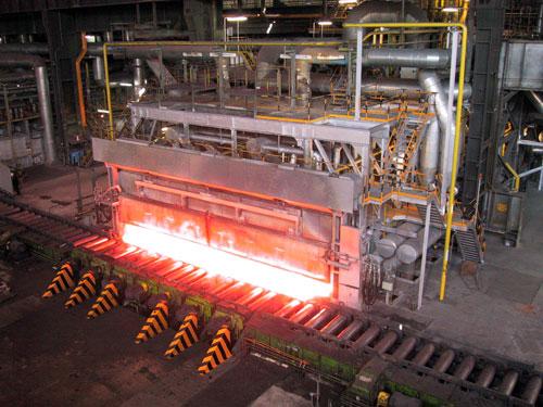 Sustitución largueros fijos y móviles hornos 3N y 4N de la acería de Gijón
